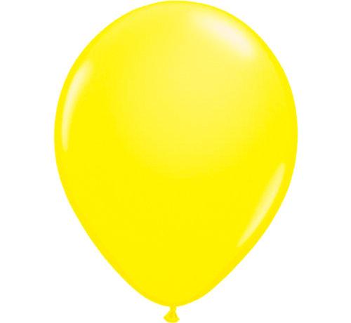 Folatex Ballonnen Neon Geel 25cm - 8 stuks