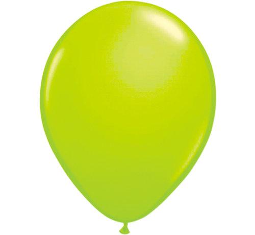 Folatex Ballonnen Neon Groen 25cm - 8 stuks