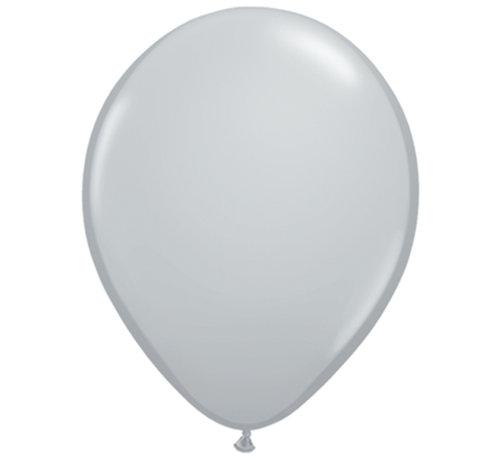 Grijze Fashion Glans Ballonnen 28cm - 100 stuks