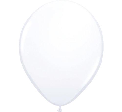 Folatex Ballonnen Wit Klein 13cm - 20 stuks