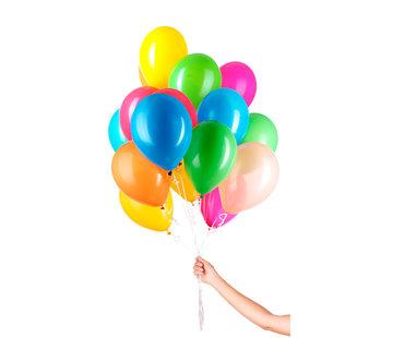 Folatex Ballonnen Assorti 23cm  - 30 stuks