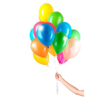 Folatex Ballonnen Metallic Assorti 23cm - 30 stuks
