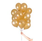 Folatex Metallic Ballonnen Goud - 30 stuks