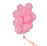 Folatex Metallic Ballonnen Lichtroze - 30 stuks