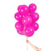 Folatex Metallic Ballonnen Magenta 23cm  - 30 stuks