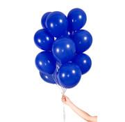 Folatex Metallic Ballonnen Donkerblauw - 30 stuks