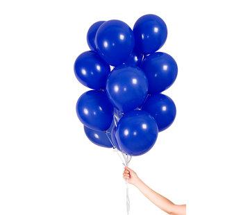 Folatex Metallic Ballonnen Donkerblauw 23cm - 30 stuks