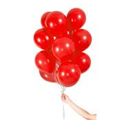 Folatex Metallic Ballonnen Rood - 30 stuks