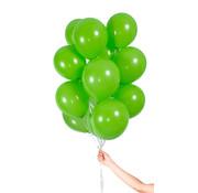 Folatex Metallic Ballonnen Lichtgroen 23cm - 30 stuks
