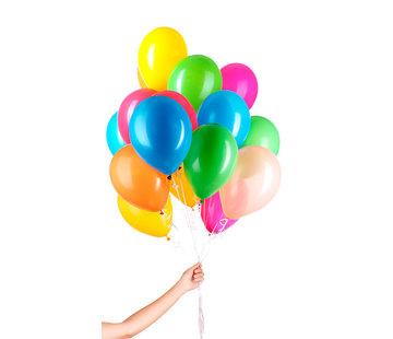 Folatex Helium Ballonnen Assorti - 30 stuks