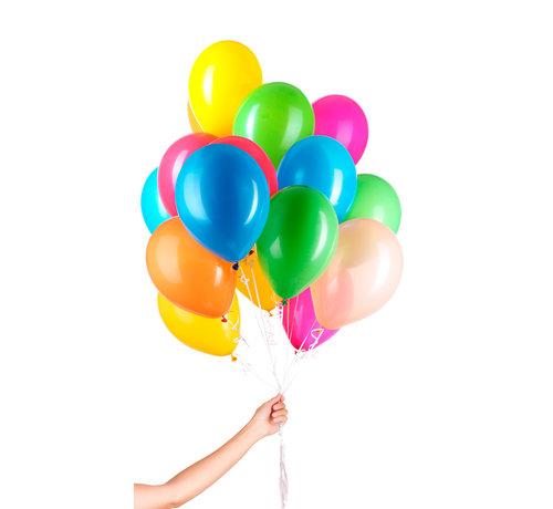 Folatex Helium Ballonnen Assorti 23cm - 30 stuks
