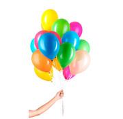 Folatex Helium Ballonnen Assorti - 50 stuks