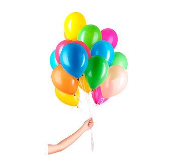 Folatex Helium Ballonnen Assorti 23cm - 50 stuks