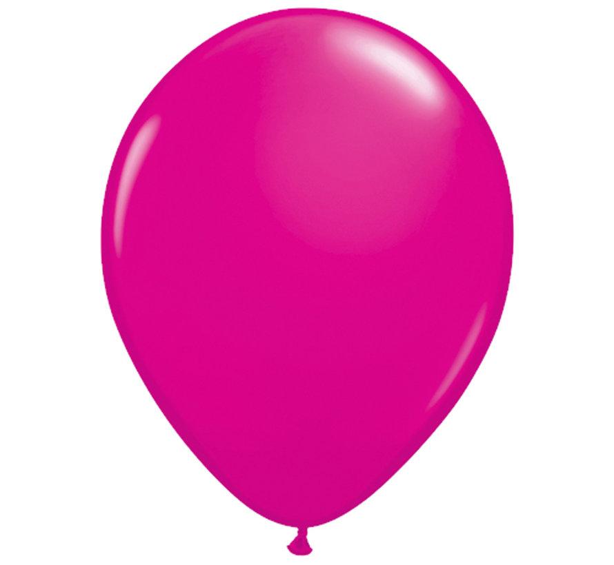 Magenta Ballonnen 28cm - 100 stuks