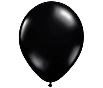 Zwarte Fashion Glans Ballonnen 13cm - 100 stuks