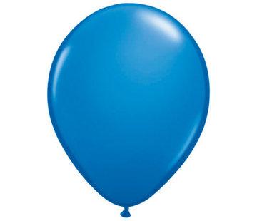 Donkerblauwe Ballonnen 28cm - 100 stuks