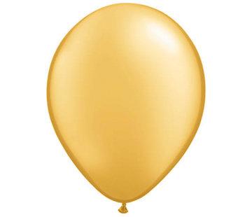 Metallic Gouden Ballonnen - 100 stuks