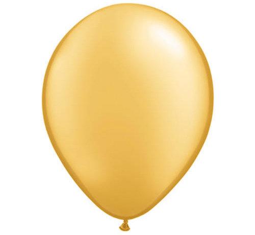 Metallic Gouden Ballonnen 30cm - 100 stuks