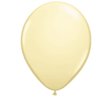 Ivoor Gele Ballonnen 28cm - 100 stuks