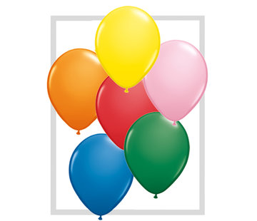 Gekleurde Ballonnen - 100 stuks