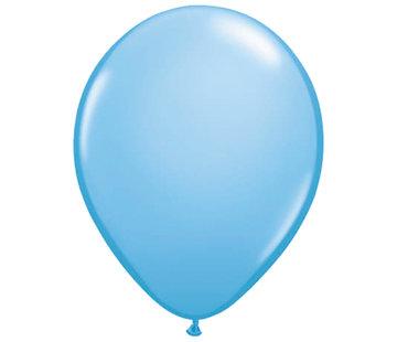 Lichtblauwe Ballonnen 28cm - 100 stuks