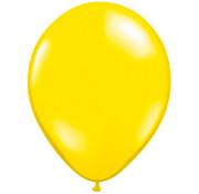 Citroen Gele Metallic Ballonnen - 100 stuks