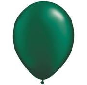 Donkergroene Pearl Ballonnen - 100 stuks