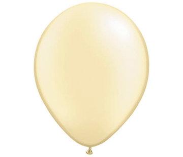 Ivoor Gele Pearl Ballonnen 28cm - 100 stuks