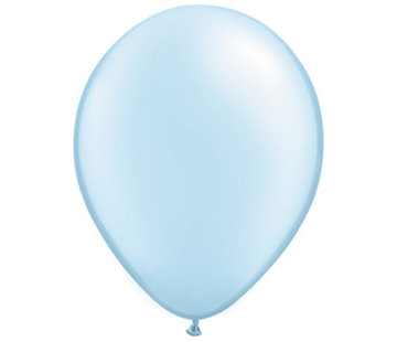 Lichtblauwe Pearl Ballonnen 28cm - 100 stuks