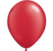 Ruby Red Metallic Ballonnen 28cm - 100 stuks