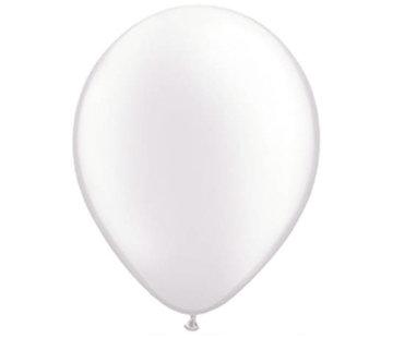 Witte Pearl Ballonnen 28cm - 100 stuks