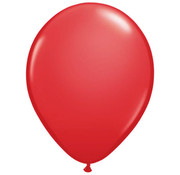 Rode Ballonnen - 100 stuks