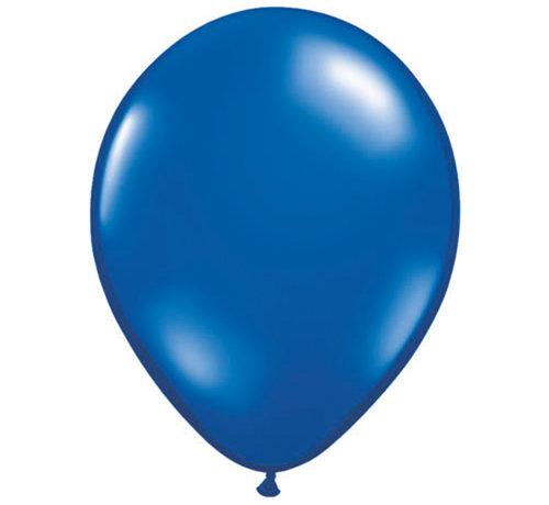 Sapphier Blauwe Ballonnen 28cm - 100 stuks