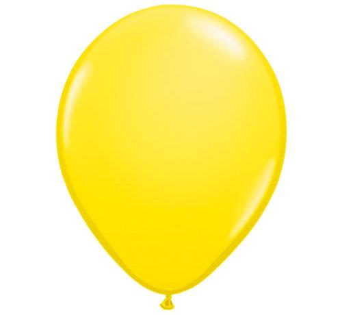 Gele Ballonnen 28cm - 100 stuks