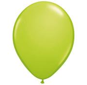 Lime groene Ballonnen - 100 stuks