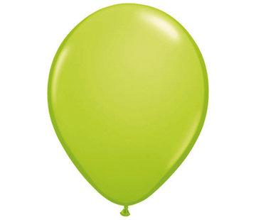 Lime groene Ballonnen 28cm - 100 stuks