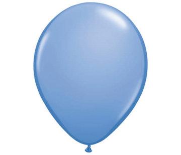 Blauwe Maagdenpalm Ballonnen 28cm - 100 stuks