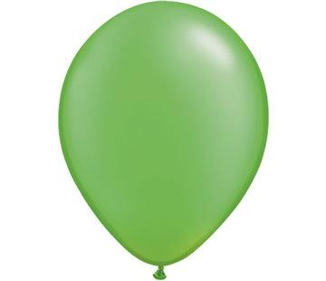 Lichtgroene Metallic Ballonnen - 100 stuks