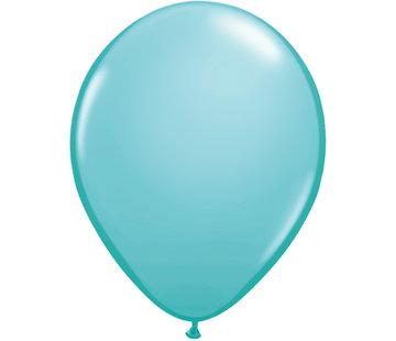 Kleine Caribean Blauwe Ballonnen - 100 stuks