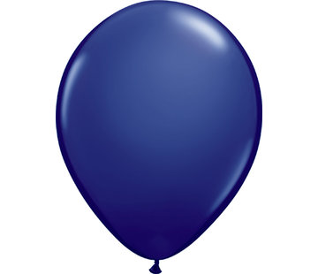 Kleine Ballonnen Marine Blauw - 100 stuks