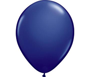 Kleine Ballonnen Marine Blauw 13cm - 100 stuks