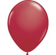 Kleine Ballonnen Bordeaux Rood - 100 stuks