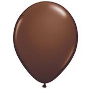 Kleine Chocolade Bruine Ballonnen - 100 stuks