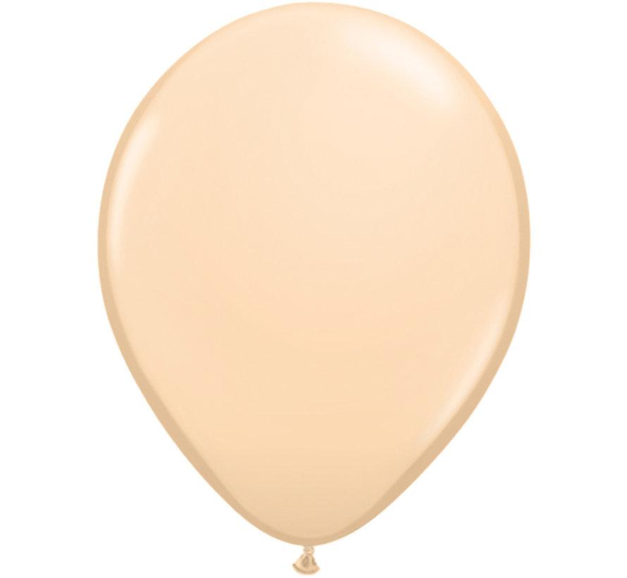 Huidskleurige Ballonnen 28cm - 100 stuks