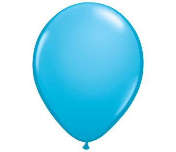 Kleine Blauwe Ballonnen 13cm - 100 stuks