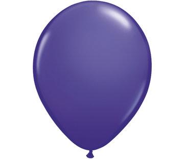 Paarse Violet Ballonnen 28cm - 100 stuks