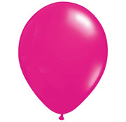 Donker Roze Ballonnen 28cm - 100 stuks
