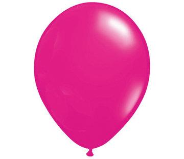 Donker Roze Ballonnen - 100 stuks