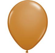 Mokka Bruine Ballonnen - 100 stuks