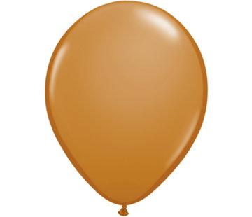 Mokka Bruine Ballonnen 28cm - 100 stuks